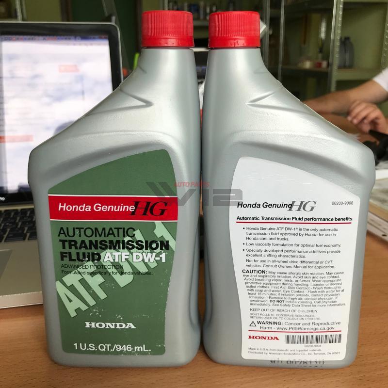 Масло трансмиссионное синтетическое \ATF DW-1\, 1л 082009008 honda