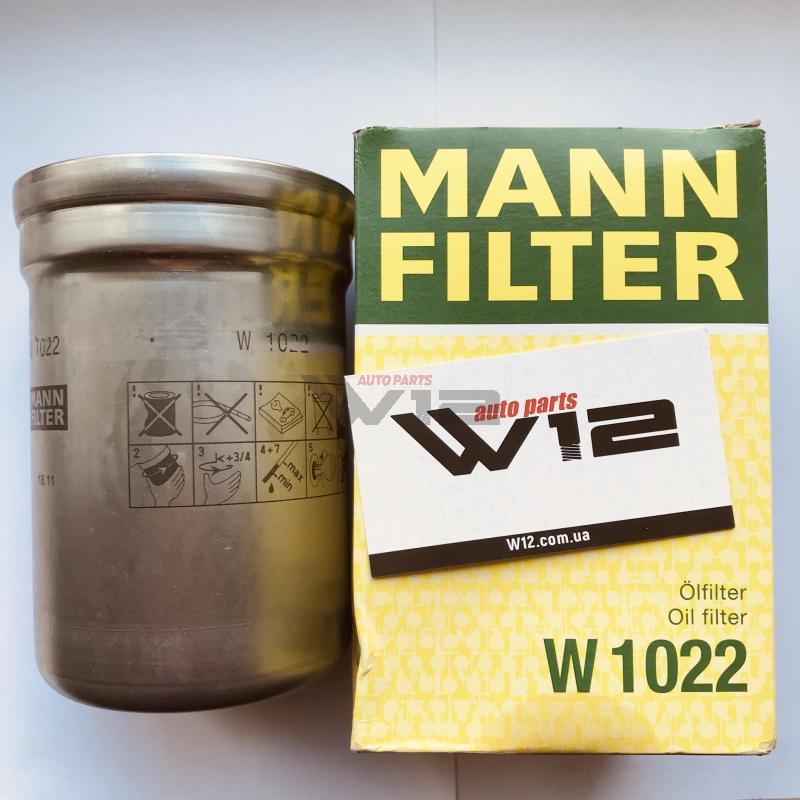 Масляный фильтр Filtr oleju CLAAS ARES, ARION, AXION, CELTIS JOHN DEERE 5000, 6000, 7000 w1022 mann