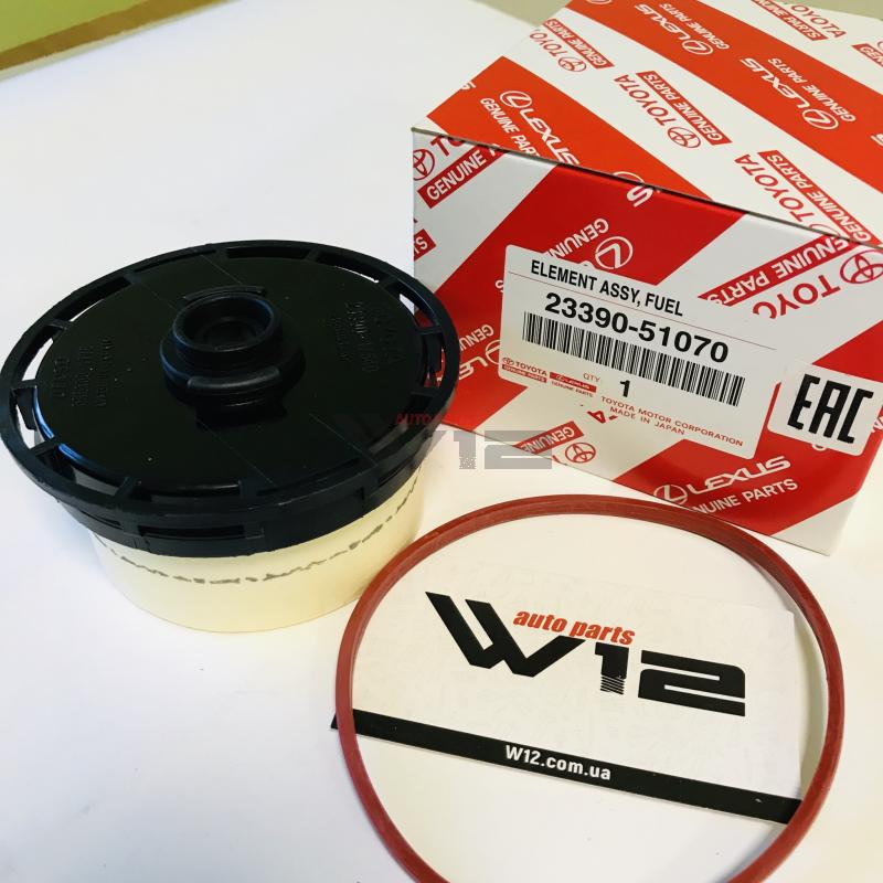 картридж топливного фильтра (без подогрева) 2339051070 toyota
