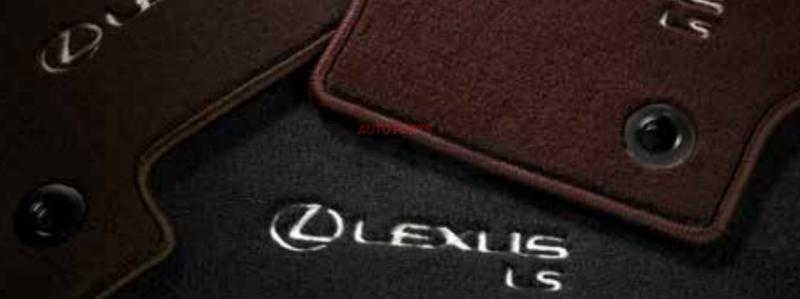 килимки салону (текстильні) pw21050013c0 toyota